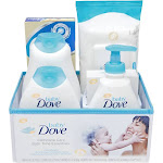 Baby Dove Gift Set Complete Care 6 Piece 1 Count, White