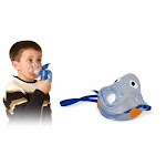 Nebulizer with Bubbles the Fish II Pediatric Mask