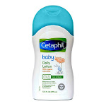 Cetaphil Baby Daily Body Lotion with Organic Calendula, Sweet Almond Oil, 13.5 oz