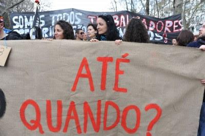 Depois do 12 Março, vem aí o 15 Outubro com mais protesto na rua por mais democracia e menos vidas precárias.