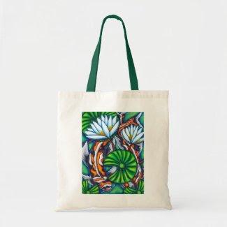 Coy Carp Tote Bag bag