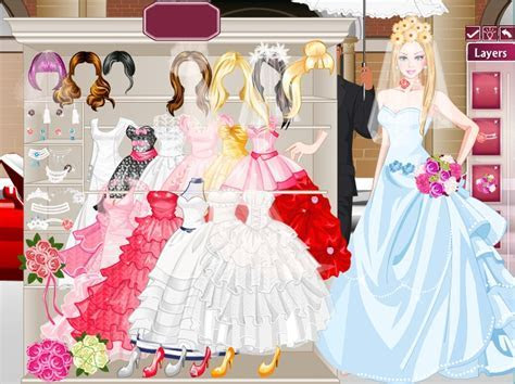 Barbie bride dressup   Wedding Dress up Games   Bride