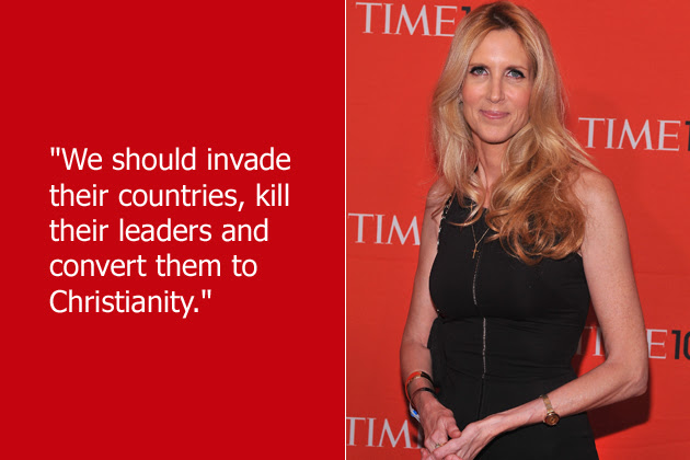 Image result for ann coulter outrageous quotes