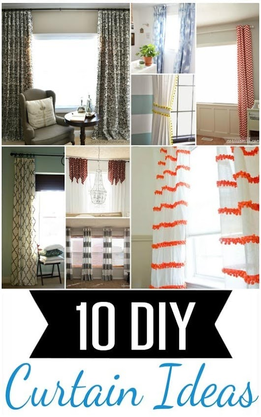 10 DIY Curtain Projects