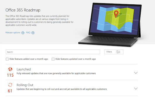 Microsoft outs new roadmap site for Office 365