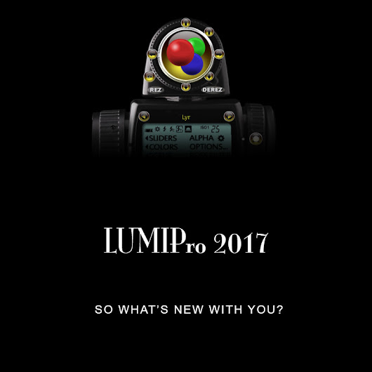 LUMIPRO 2017 is almost here!