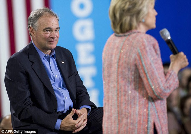 Sen. Tim Kaine brings foreign policy experience to the table - and speaks Spanish - but is already being a called 'corrupt' by Republican rival Donald Trump for taking gifts while in office