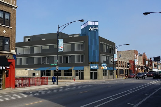 Culver's in Wrigleyville, City's 1st, Coming Soon - And You Can Live There
