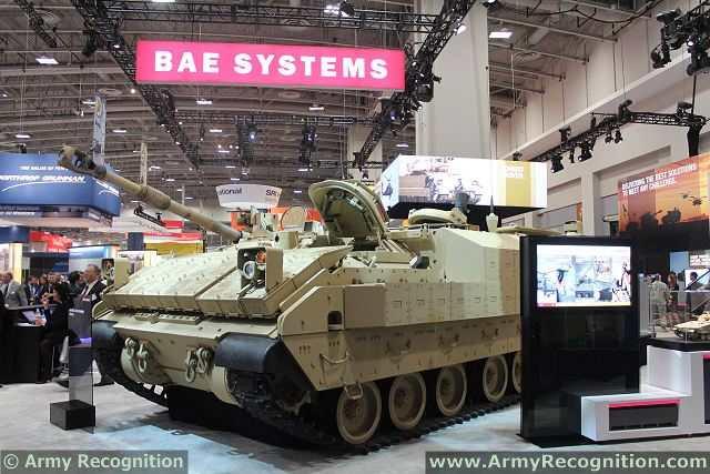 BAE Systems muestra a AUSA 2013 su propuesta de solución al programa de Armored Vehicle multiusos del Ejército (metapneumovirus), que sustituirá a la compañía M113 personal. El vehículo multiusos Armored (metapneumovirus) es el programa del Ejército de EE.UU. para reemplazar el M113 Familia envejecimiento de Vehículos en cinco funciones de misión, incluyendo uso general, Mortero Carrier, Control de la Misión, evacuación médica y tratamiento médico en el Ejército Blindado Brigada de Combate de EE.UU. ( ABCT).