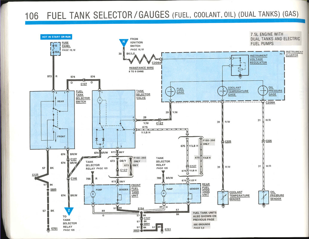 86 Ford F250 Wiring Diagram Tow Package