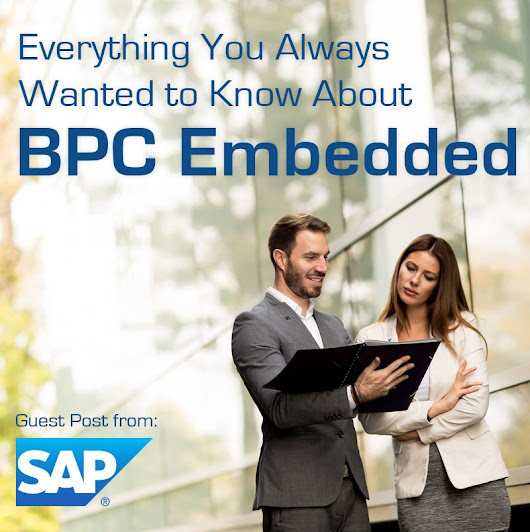 Where to Find: Everything You Always Wanted to Know about SAP BPC Embedded