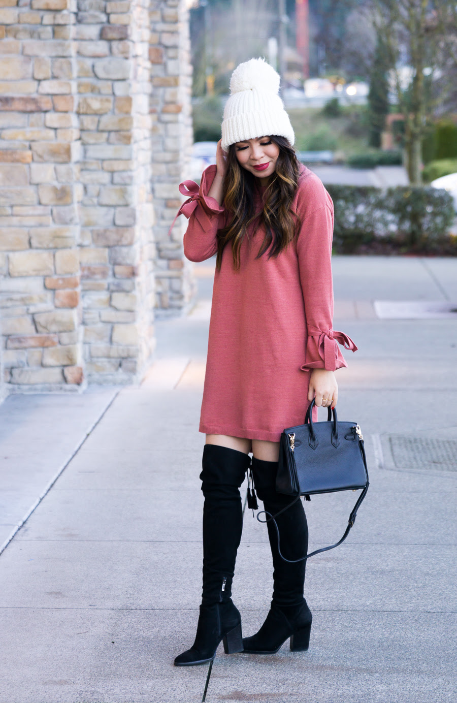 how to wear over the knee boots 3 different ways  just a