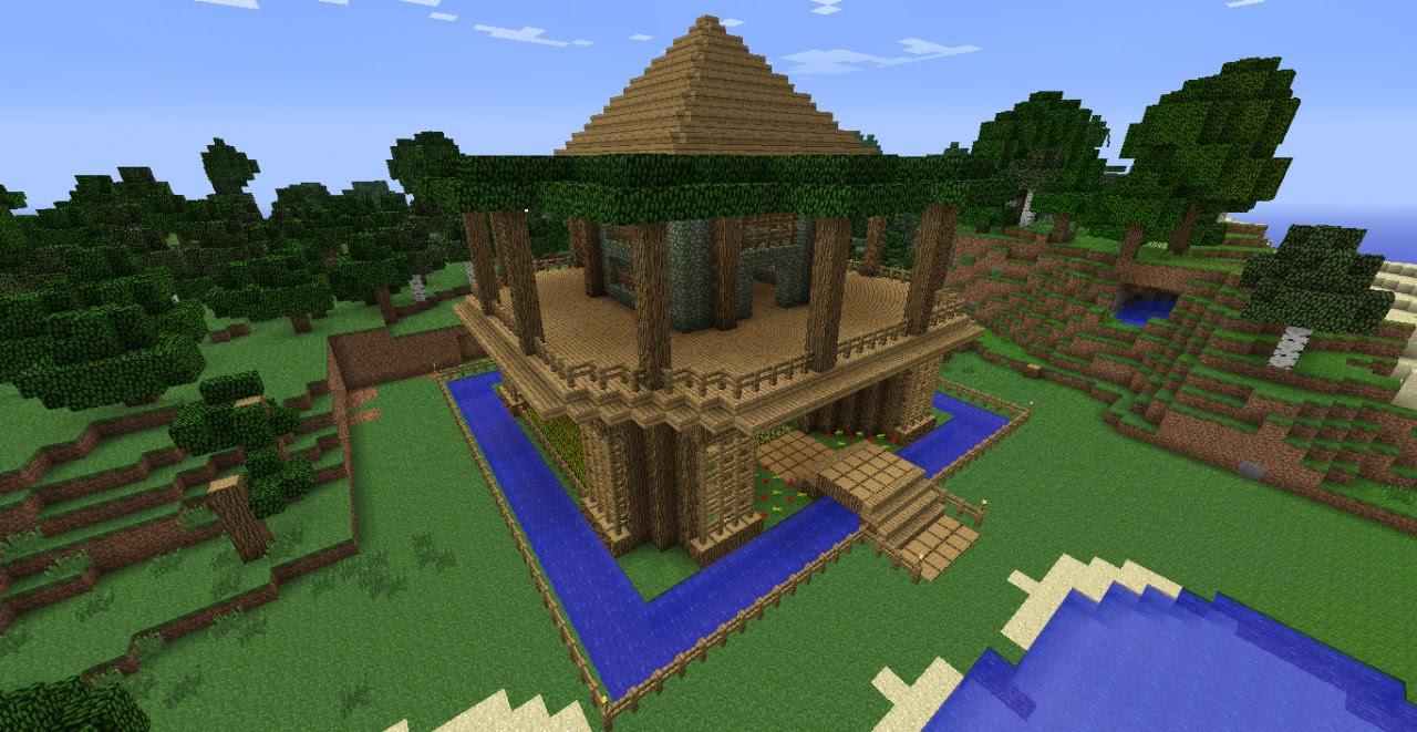 Old Oak Tree Mansion Minecraft Project