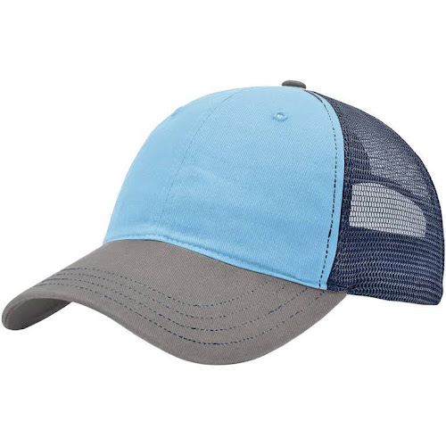 Richardson 111 Washed Trucker Cap - Col Blue Cha Navy 73f96614b5b7