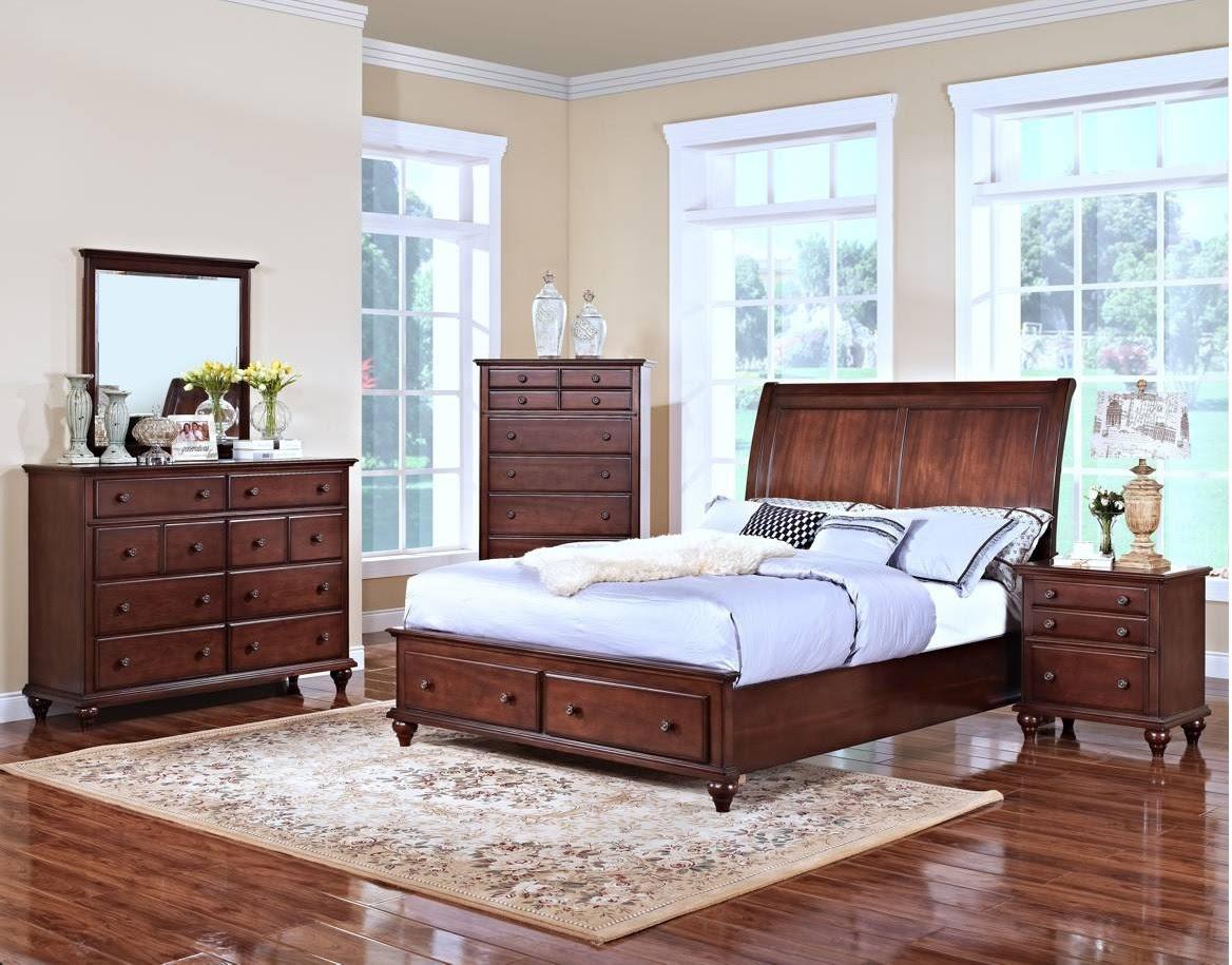 Modern Eastern King Size Bed Footboard Base Storage 2 ...