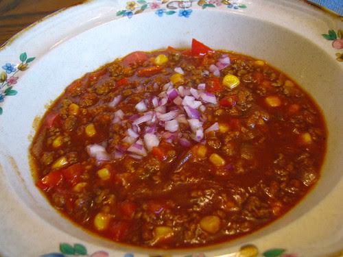 Indian Summer Turkey Chili