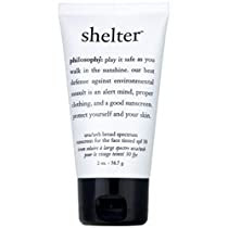 Philosophy Shelter Sunscreen For Face Tinted SPF 30