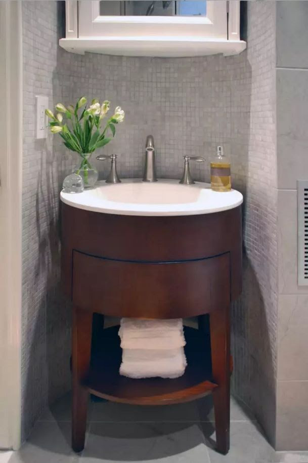 Small Bathroom Space Saving Vanity Ideas - Small Design Ideas