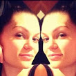 'Chillin' with no make-up on': Jessie J shows off her natural beauty and flawless skin as she sports the barefaced look