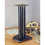VTI UF24B Cast Iron Speaker Stands (24 inch Black)