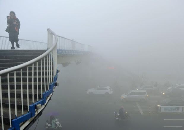 Cina: inquinamento alle stelle © AP