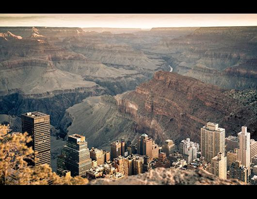 If Manhattan Was Inside The Grand Canyon - ABC News