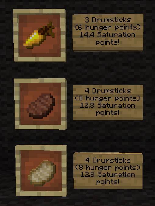 Bon Appétit: Better Use of Minecraft Food | Minecraft Blog