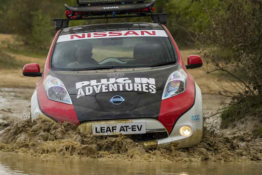Modified Nissan Leaf EV to join the 16,000 km Mongol Rally