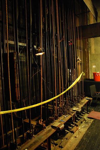 Los Angeles Theatre Backstage
