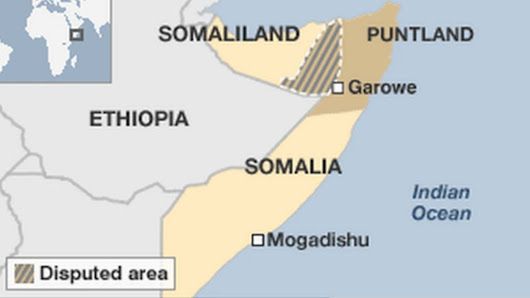 Puntland troops stage short mutiny 'over unpaid salaries' - BBC News