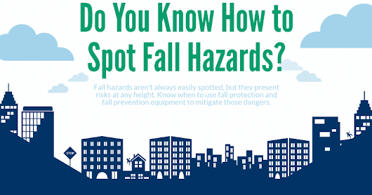 InfoGraphic: Fall Protection - Fall Hazards | SafetyVantage