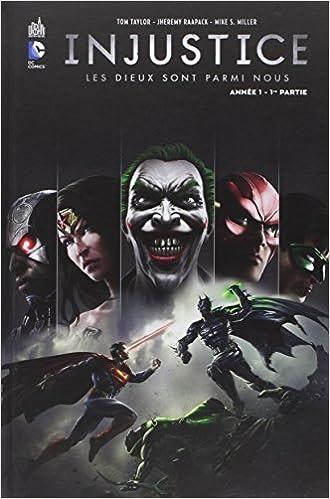 inhustice Batman Superman La Ligue des Justiciers