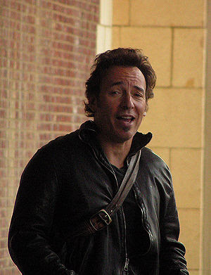A portrait of Bruce Springsteen