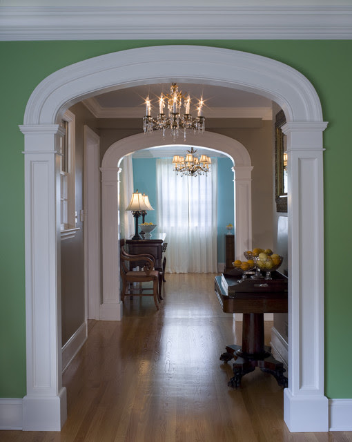 Interior Arch - Traditional - Hall - philadelphia - by ...
