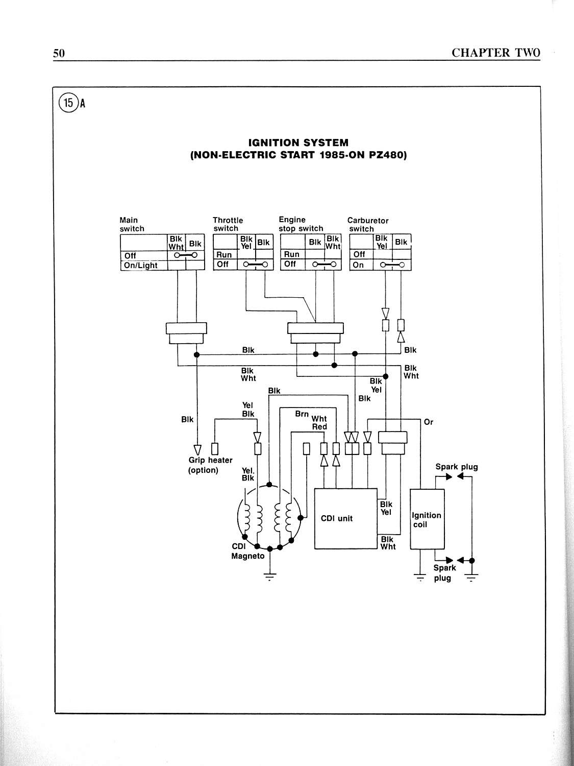 Yamaha Exciter Wiring Diagram