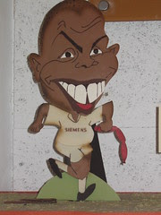 Ronaldo en el museo de chocolate de Barcelona