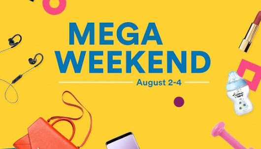 Dubai Mega Weekend Souq Big Sales - حسناء