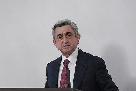 "Sargsyan: Armenia was not against presence of peacekeepers in Karabakh, but wants ""final settlement""  - Karabakh 