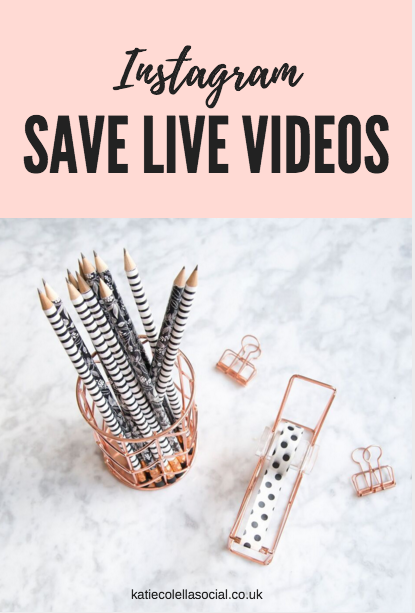 Instagram Introduce: Save Live Videos - Social Media Assistant