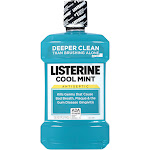 Listerine Antiseptic Mouthwash, Cool Mint - 50.7 fl oz bottle