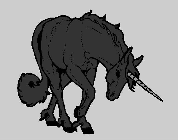 Dibujo De Unicornio Bravo Pintado Por Kathya2001 En Dibujos Net El