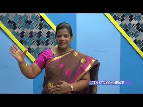 12th Commerce மேலாண்மை செயல்முறைகள் அலகு 1 பாடம் 3 Kalvi TV
