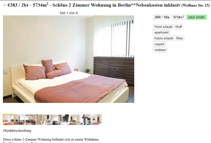fabian ulisse sch ne 2 zimmer wohnung in berlin. Black Bedroom Furniture Sets. Home Design Ideas
