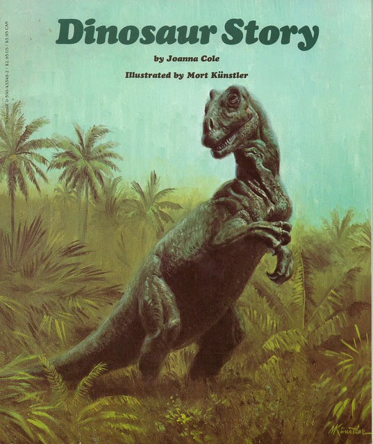 Dinosaur Story Book Cover