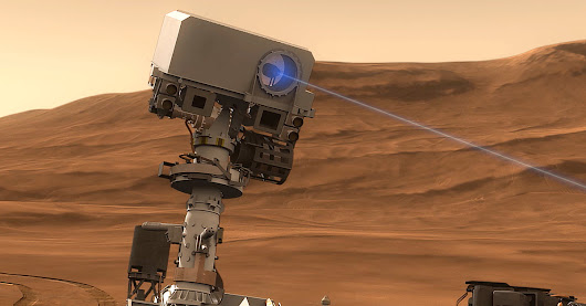 NASA's Mars rover is really good at laser-blasting rocks without human input