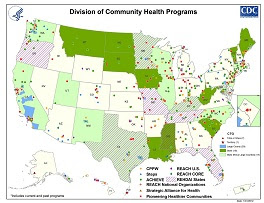 Division of Community Health program map