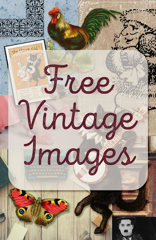freebie: vintage image round up
