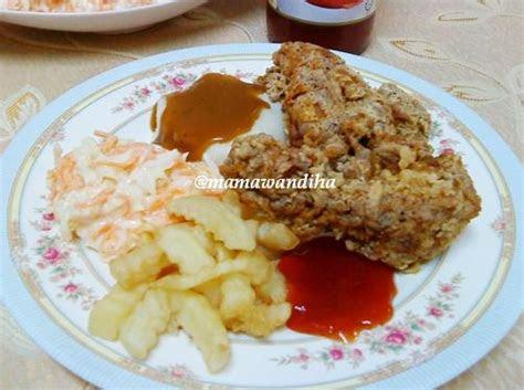 dapur madihaa ayam goreng ala kfc versi hot spicy