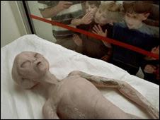 Modelo de extraterrestre