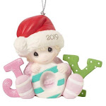 Precious moments baby girl first christmas 2019 ornament